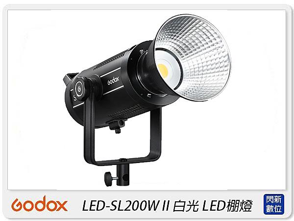 GODOX 神牛 LED-SL200W II 二代 白光 攝影燈 LED棚燈(LED SL200WII,公司貨)SL200