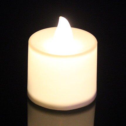 LED電子蠟燭 電子蠟燭燈成人生日佈置創意裝飾浪漫求愛表白求婚心形小蠟燭焰火 『MY6884』