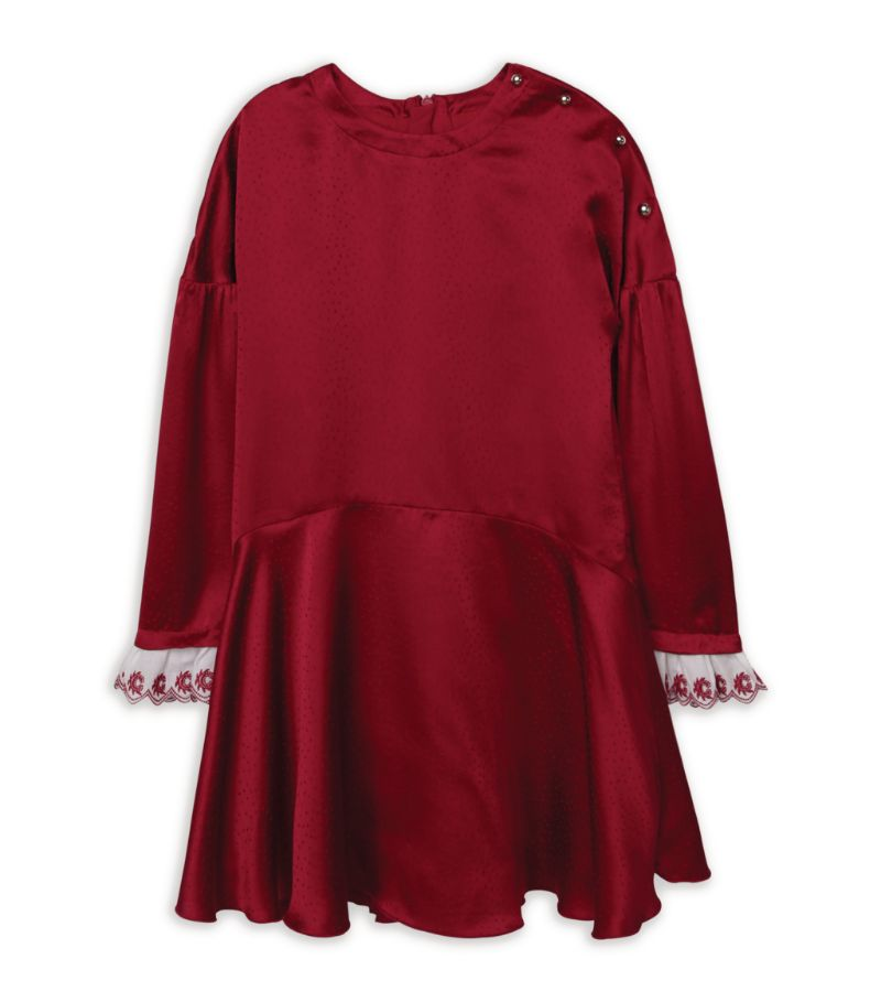 Chloé Kids Satin Dress (3-14 Years)