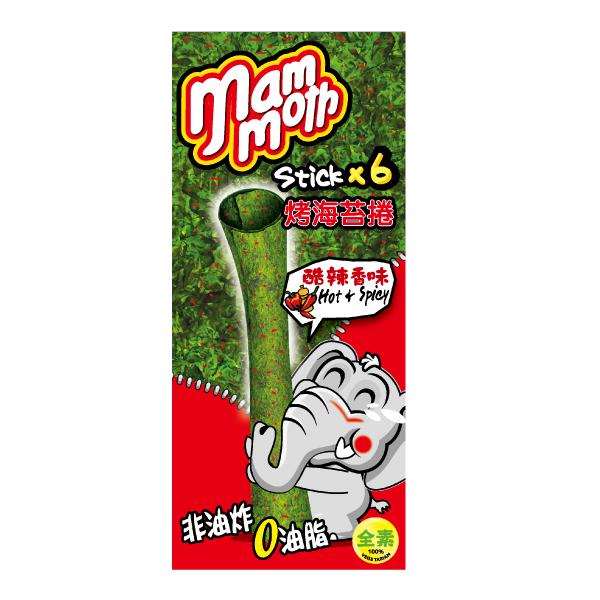 MM象泰式烤海苔捲-酷辣香味-18g