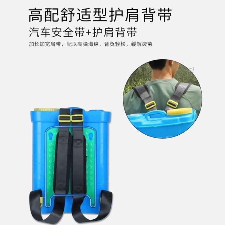 噴霧器 電動噴霧器農用智能新背負式充電多功能打機農高壓鋰電池噴壺【快速出貨】  七色堇 元旦 交換禮物