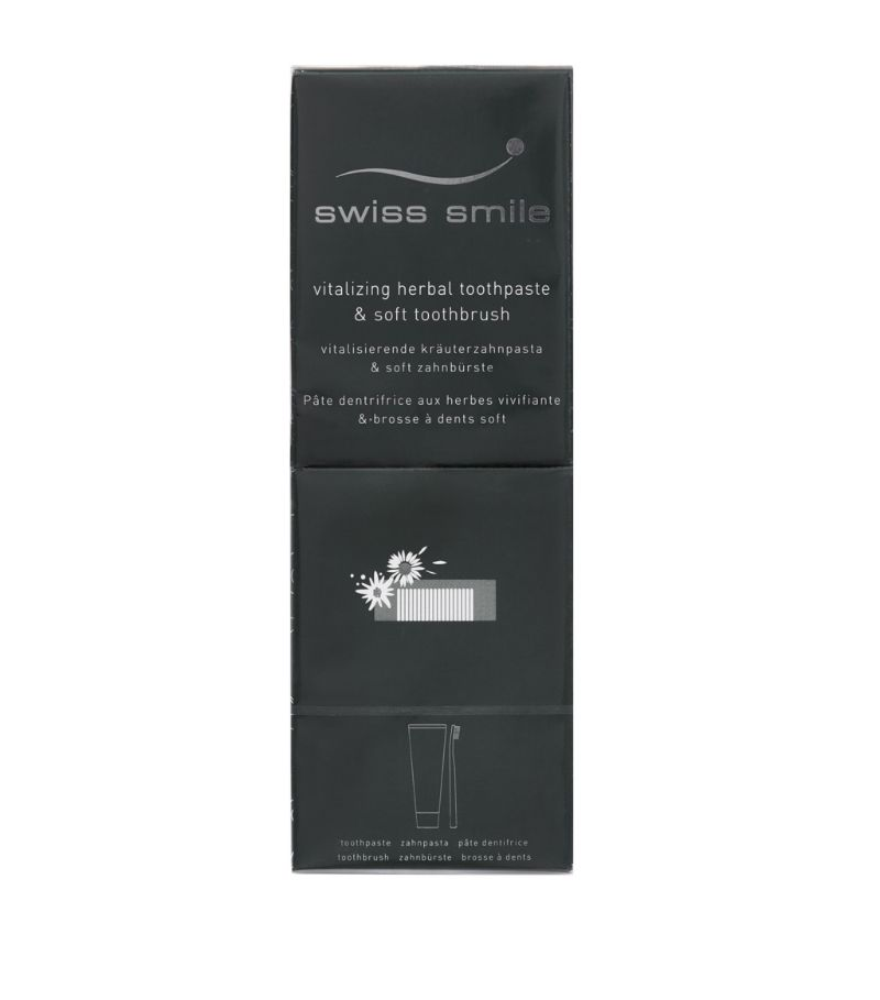 Swiss Smile Herbal Toothpaste And Toothbrush Set (75Ml)