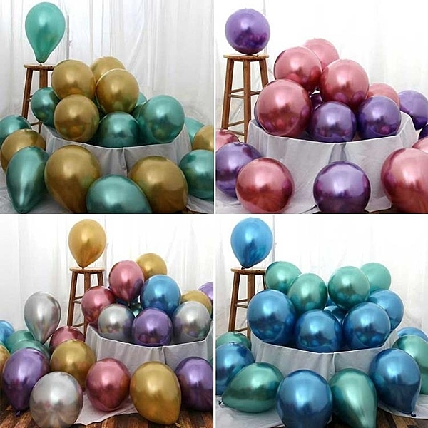 派對氣球 成人派對珠光生日場景 結婚慶用品裝飾生日婚房布置氣球婚禮
