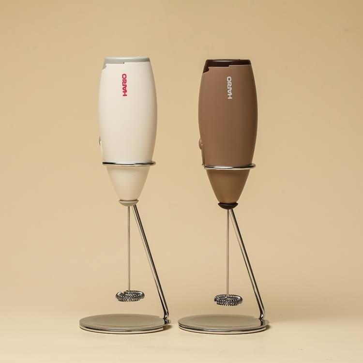 奶泡機 奶泡器咖啡拉花手持電動打奶泡器奶泡機牛奶打泡器奶泡桿CZ  【新年鉅惠】