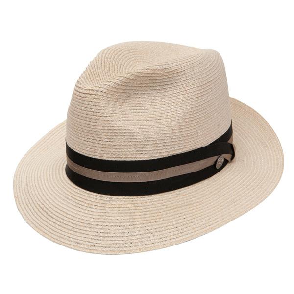 Stetson Bristol - Straw Fedora Hat