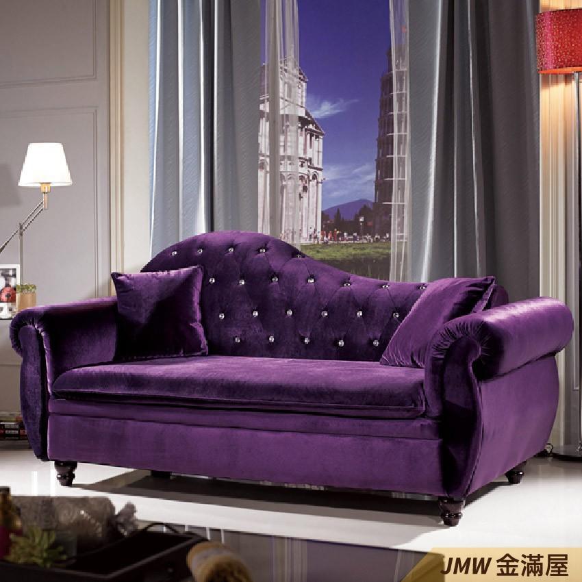 [免運] L型沙發 貓抓皮 布沙發 沙發床 沙發椅【金滿屋】木沙發 123沙發-A345-2