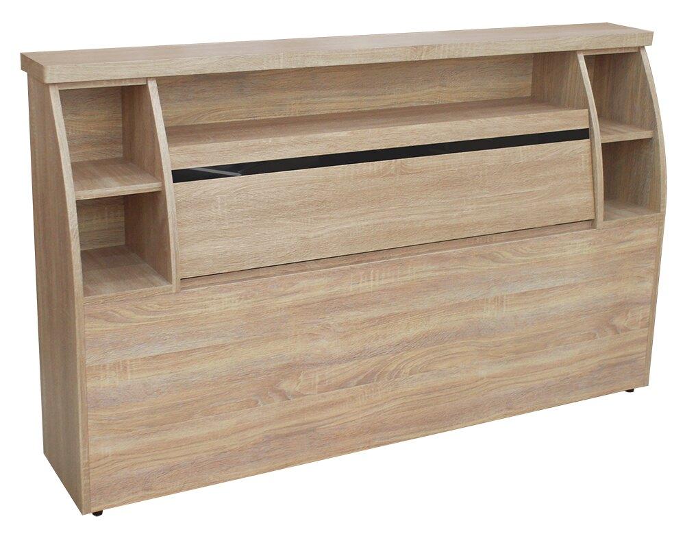 【 尚品傢俱】RS-25-04 梧桐5尺床頭箱~另有3.5尺、6尺~(胡桃色 / 雪松色)