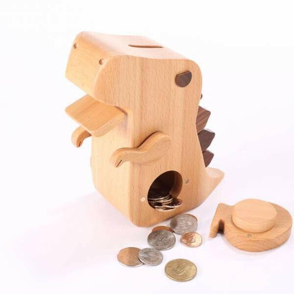 【木匠兄妹Carpenter】暴龍存錢筒 撲滿 文具用品 家飾擺設【JC科技】