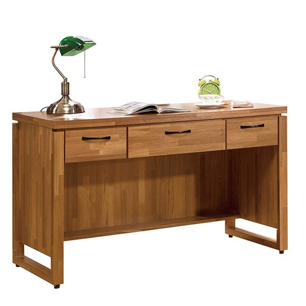 克里斯4尺三抽書桌/H&D東稻家居-618購物節