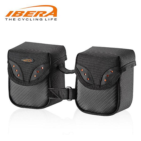 IBERA 兩小手把袋M IB-HB6 / 城市綠洲(台灣製造.輕量化.自行車.腳踏車.反光飾孔.防潑水)