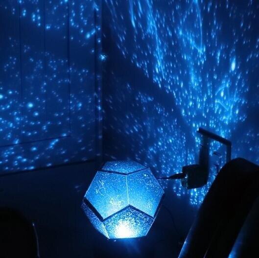 星空燈 投影滿天星星星房間生日求婚布置裝飾創意彩燈閃燈串燈用品 部落 【新年鉅惠】