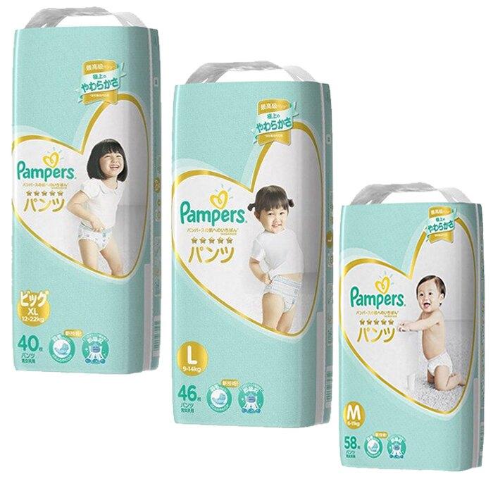 幫寶適 一級幫 拉拉褲 日本境內 增量版拉拉褲 紙尿褲 尿布 M L XL