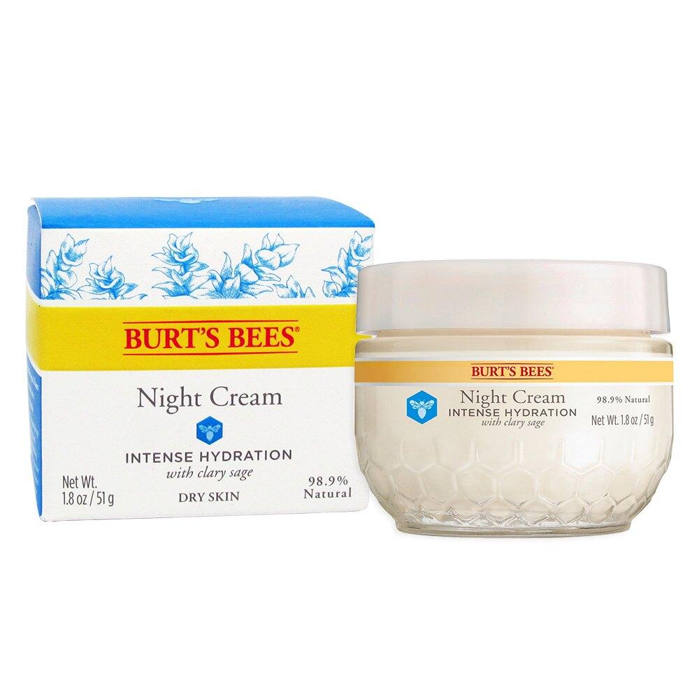 【彤彤小舖】Burt s bees 蜜蜂爺爺 水之初賦活晚霜 1.8oz /50g 新包裝