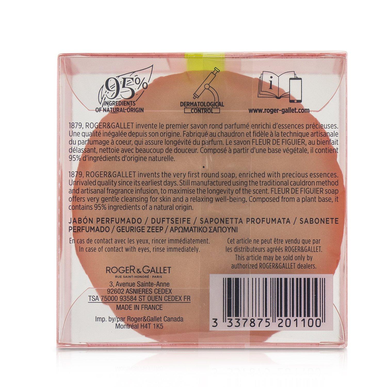 賀傑與賈雷 Roger & Gallet - 地中海無花果香水皂Fleur De Figuier Perfumed Soap