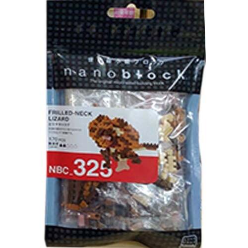 《 NanoBlock 迷你積木 》NBMC_325 褶傘蜥 東喬精品百貨