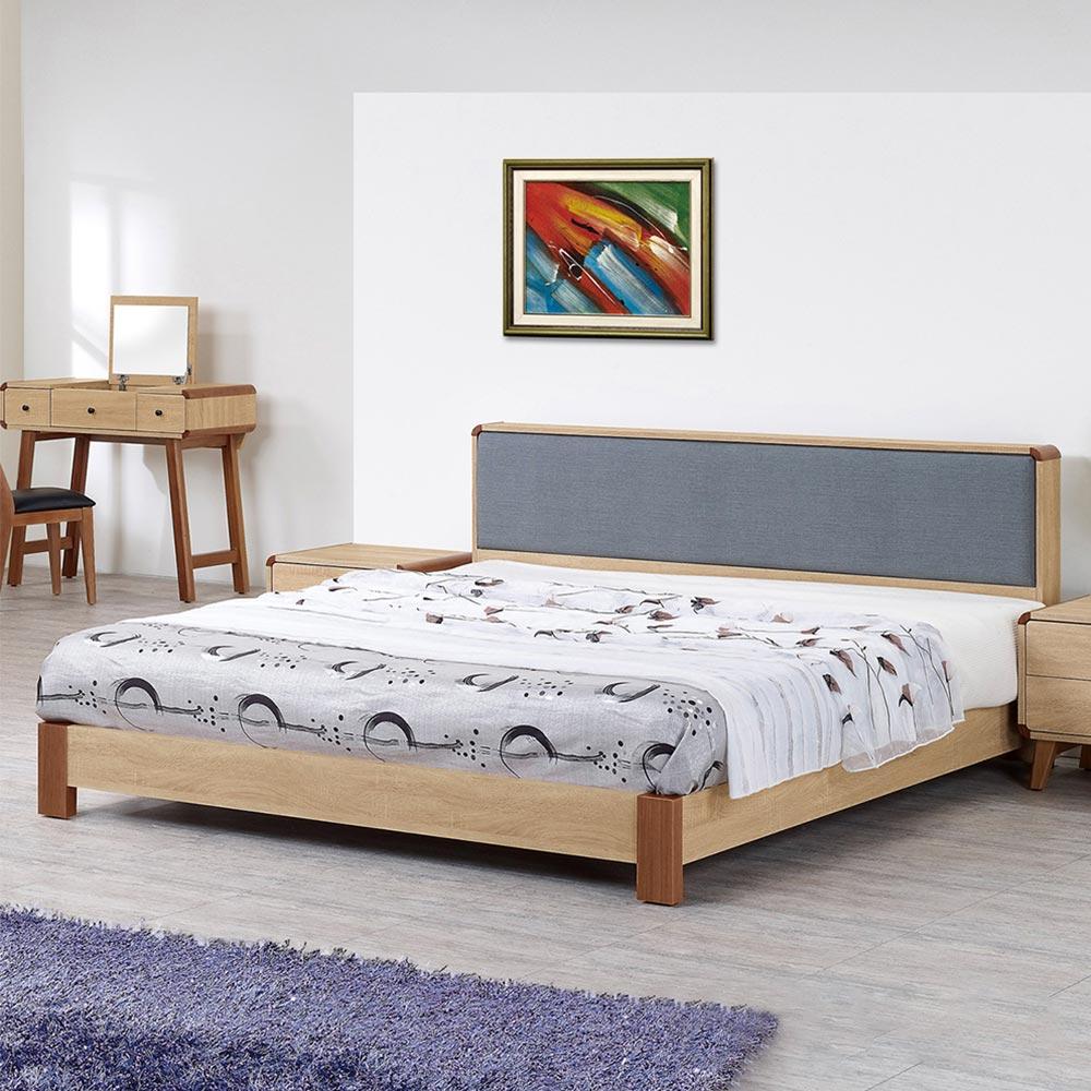 柏克5尺床片型床台/H&D東稻家居-消費滿3千送點數10%