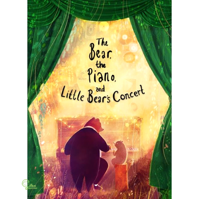 The Bear, the Piano and Little Bear's Concert【禮筑外文書店】[61折]
