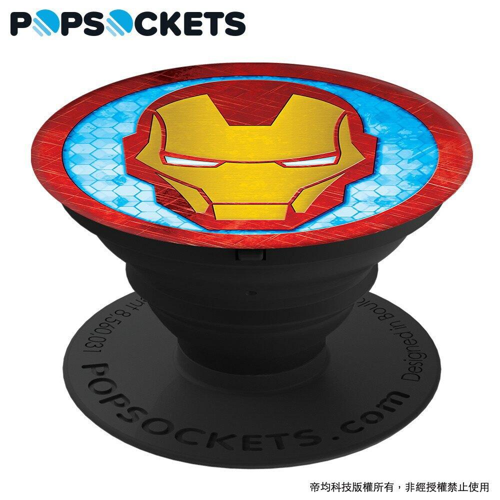 【PopSockets泡泡騷】 鋼鐵人 美國時尚多功能手機支架【JC科技】