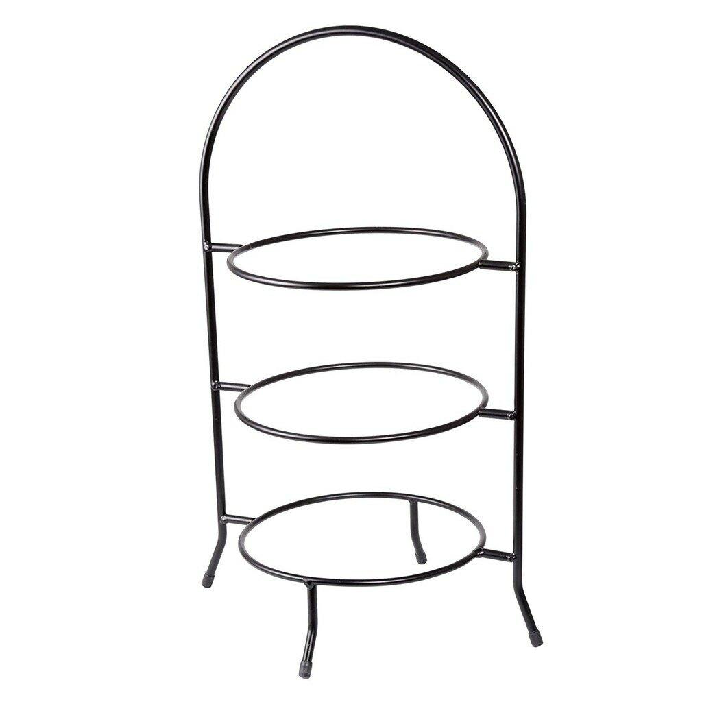 Creative Home時尚三層下午茶點心架子糕點架連盤水果點心盤自助餐具