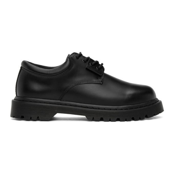 N.Hoolywood 黑色 Postman 德比鞋