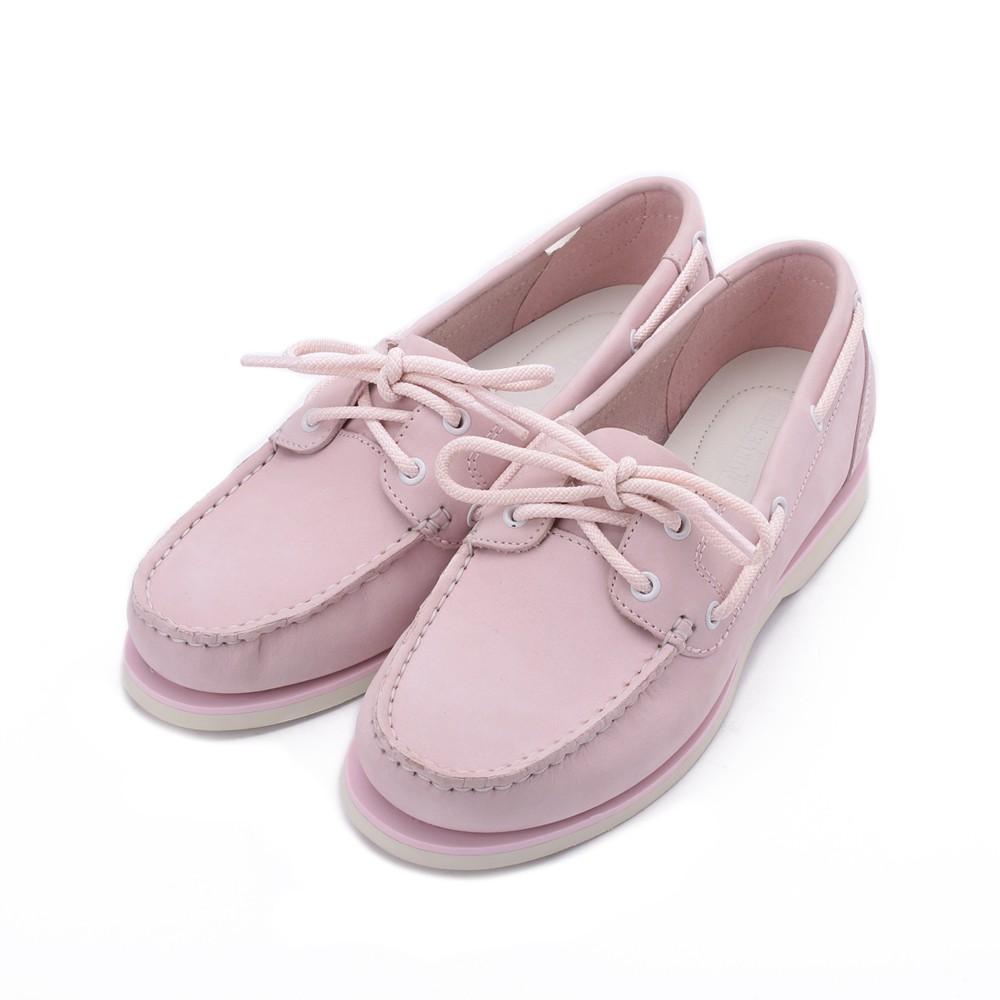 TIMBERLAND 磨砂革戶外休閒鞋 粉 A27UT 女鞋