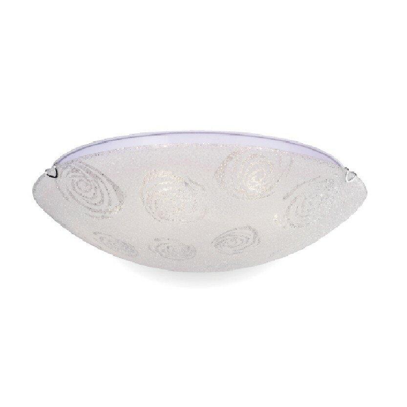 【NATIONAL】雙燈玫瑰30CM吸頂燈鑽石玻璃E27X2 《適用走道/陽台/玄關3坪以下空間》
