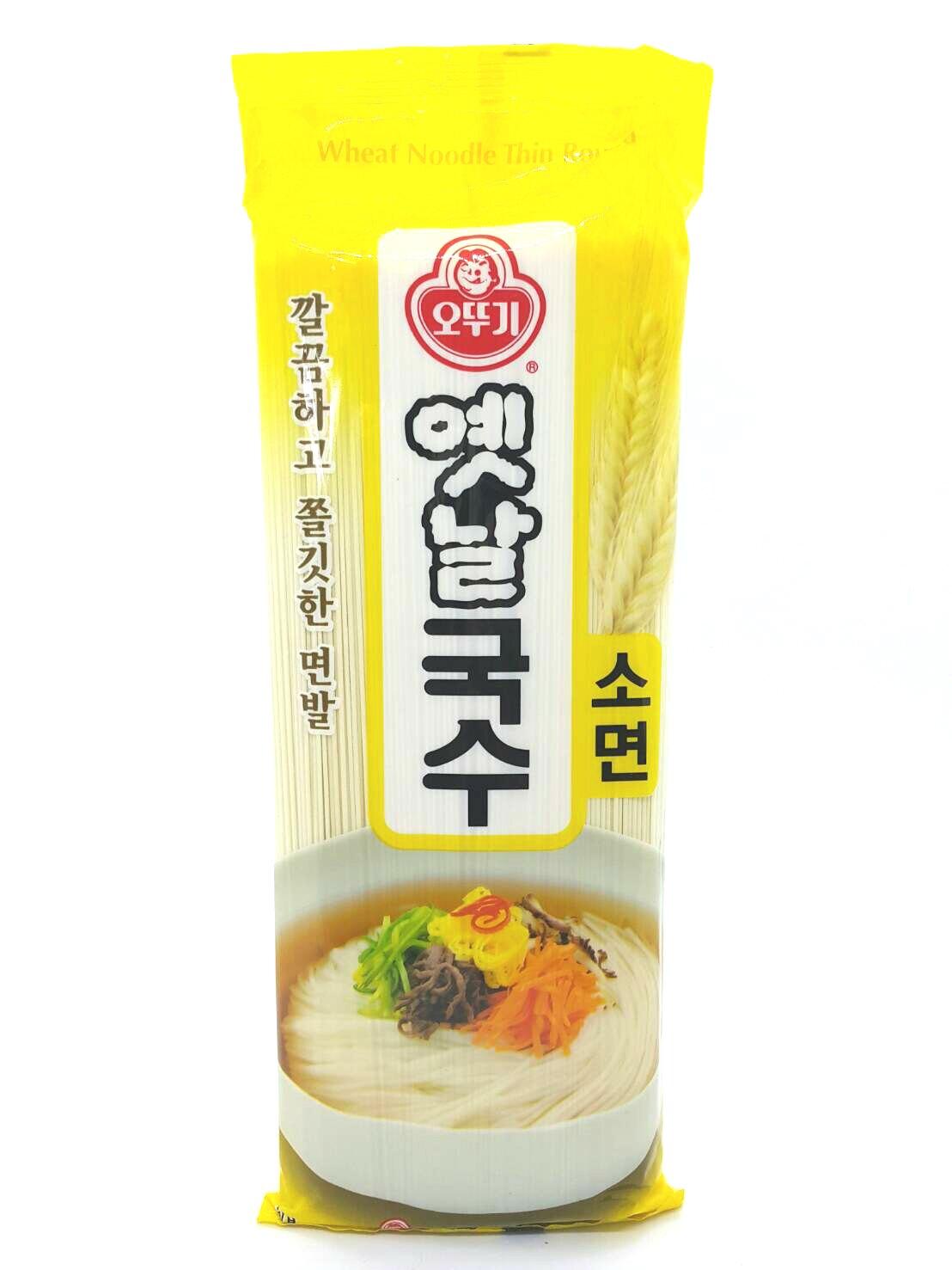 不倒翁OTTOGI 韓式細麵 細麵 500g/包