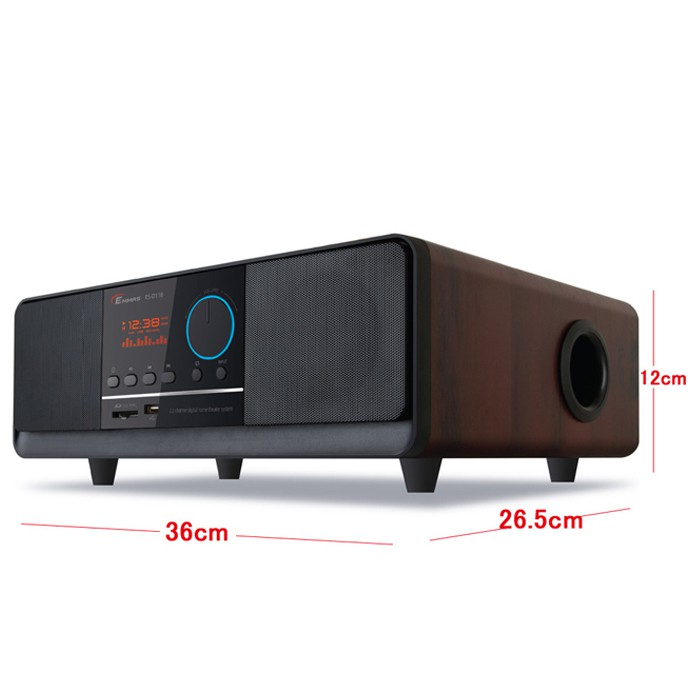 【EMMAS】多媒體MP3床頭音響(ES-D118) 原廠公司貨 (庫存福利品)