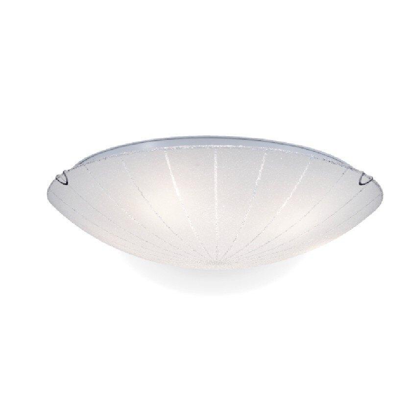 【NATIONAL】雙燈傘夏30CM吸頂燈鑽石玻璃E27X2 《適用走道/陽台/玄關3坪以下空間》
