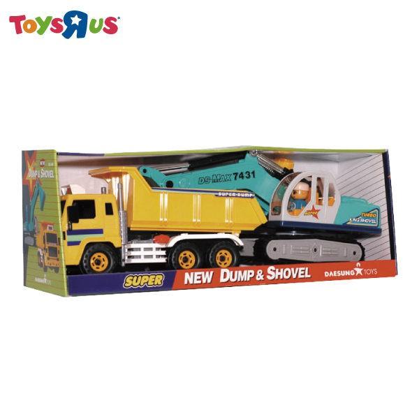 玩具反斗城~CAT 卡車&挖土機組
