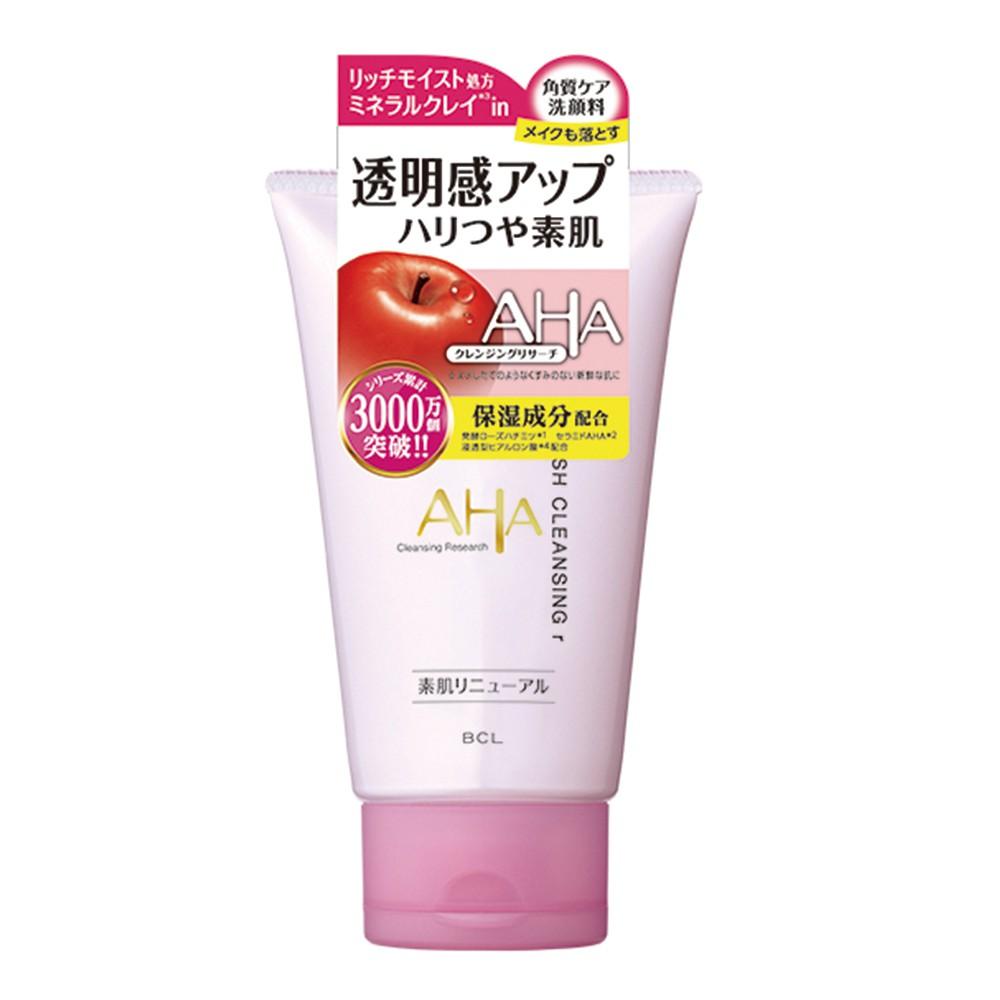 BCL AHA柔膚保濕洗面乳120g