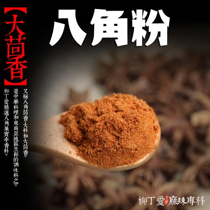 柳丁愛 八角粉 大茴香粉100g滷味必備 辛香料【A065】