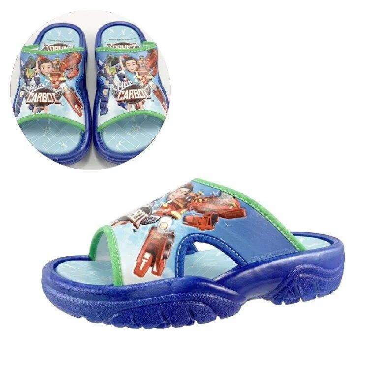 衝鋒戰士 英雄輕量拖鞋 英雄藍