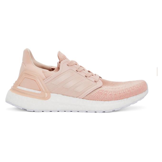 adidas Originals 粉色 UltraBOOST 20 运动鞋