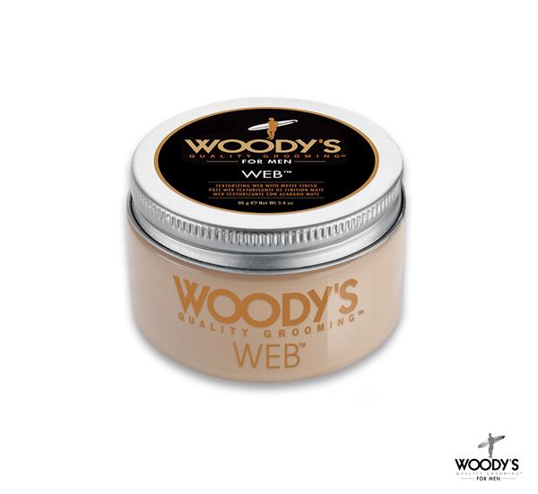 Woody's Grooming WED強黏無光髮土(3.4oz)