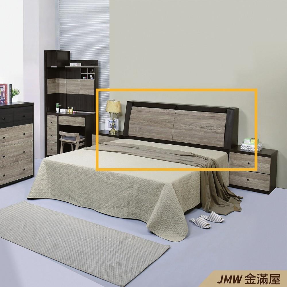 雙人加大6尺 床頭片 床頭櫃 單人床片 貓抓皮 亞麻布 貓抓布金滿屋k50-21 -