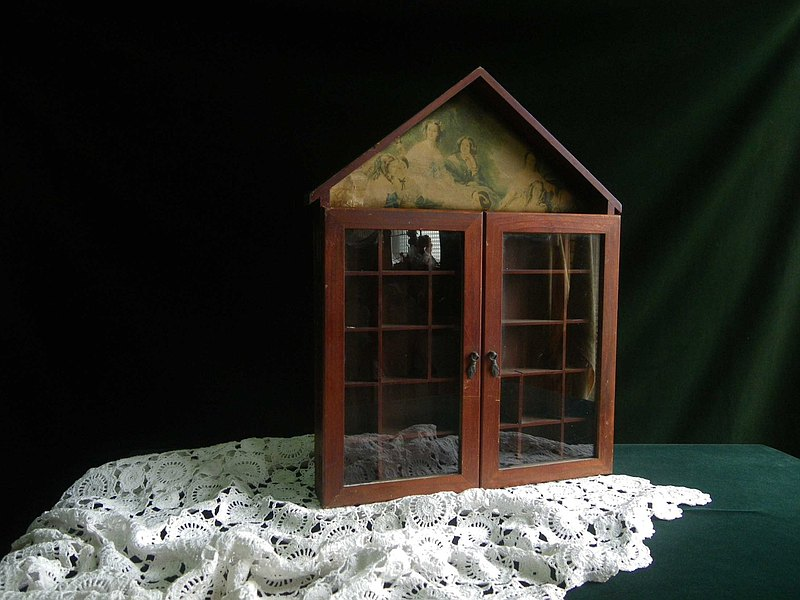 【老時光 OLD-TIME】早期台灣木製分格收納壁櫃