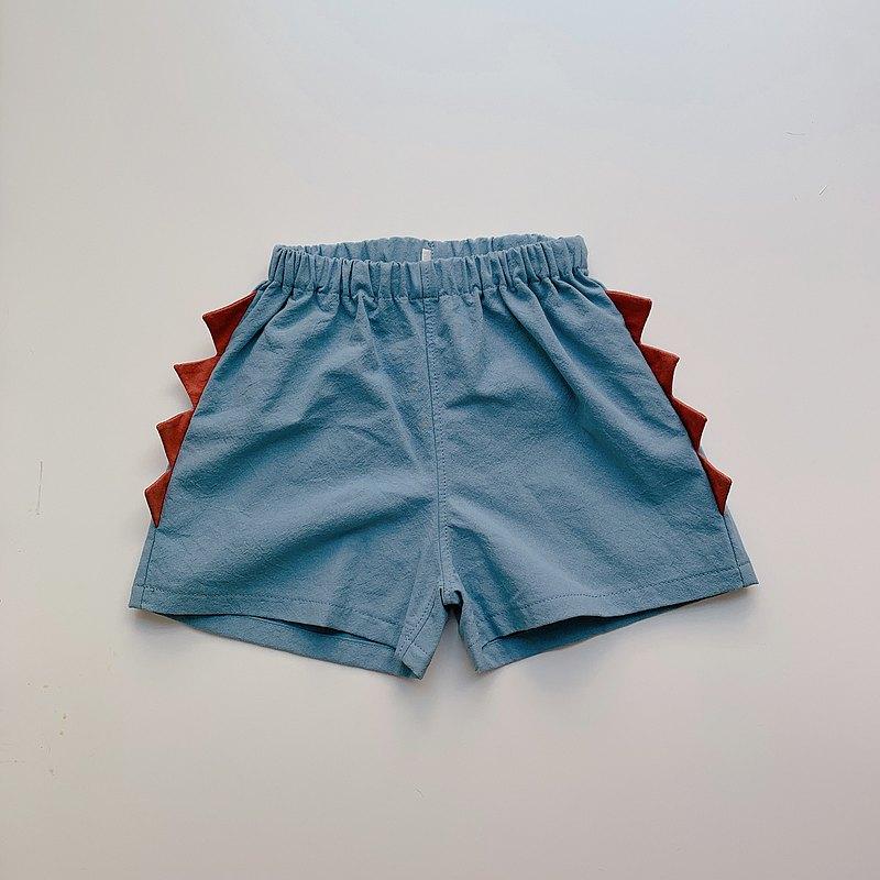 島森家 / 恐龍短褲 / 藍色