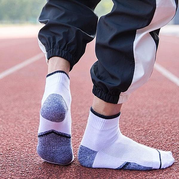 4雙裝 春秋男士運動襪子純棉襪中筒秋冬加固棒球襪網球襪滑板短襪