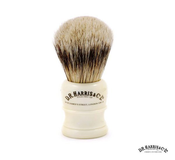 D.R.Harris Ivory H series Shaving Brushes 仿象牙高級獾毛鬍刷