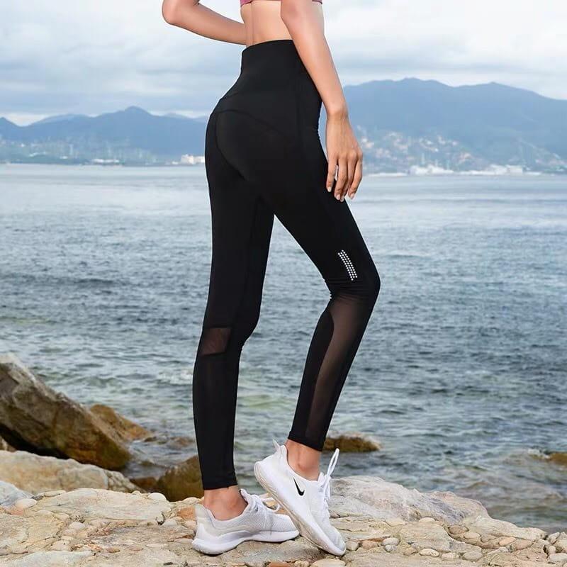運動休閒長褲韻律有氧跑步瑜珈-KOI