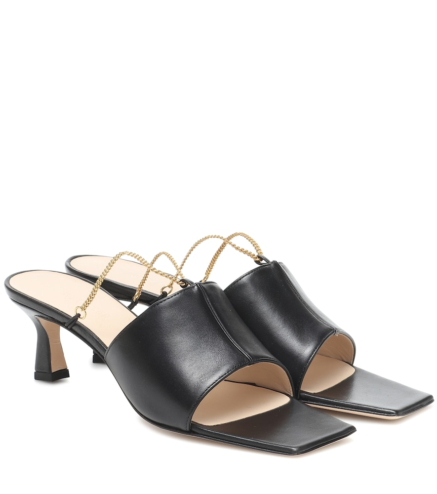 Isa leather sandals