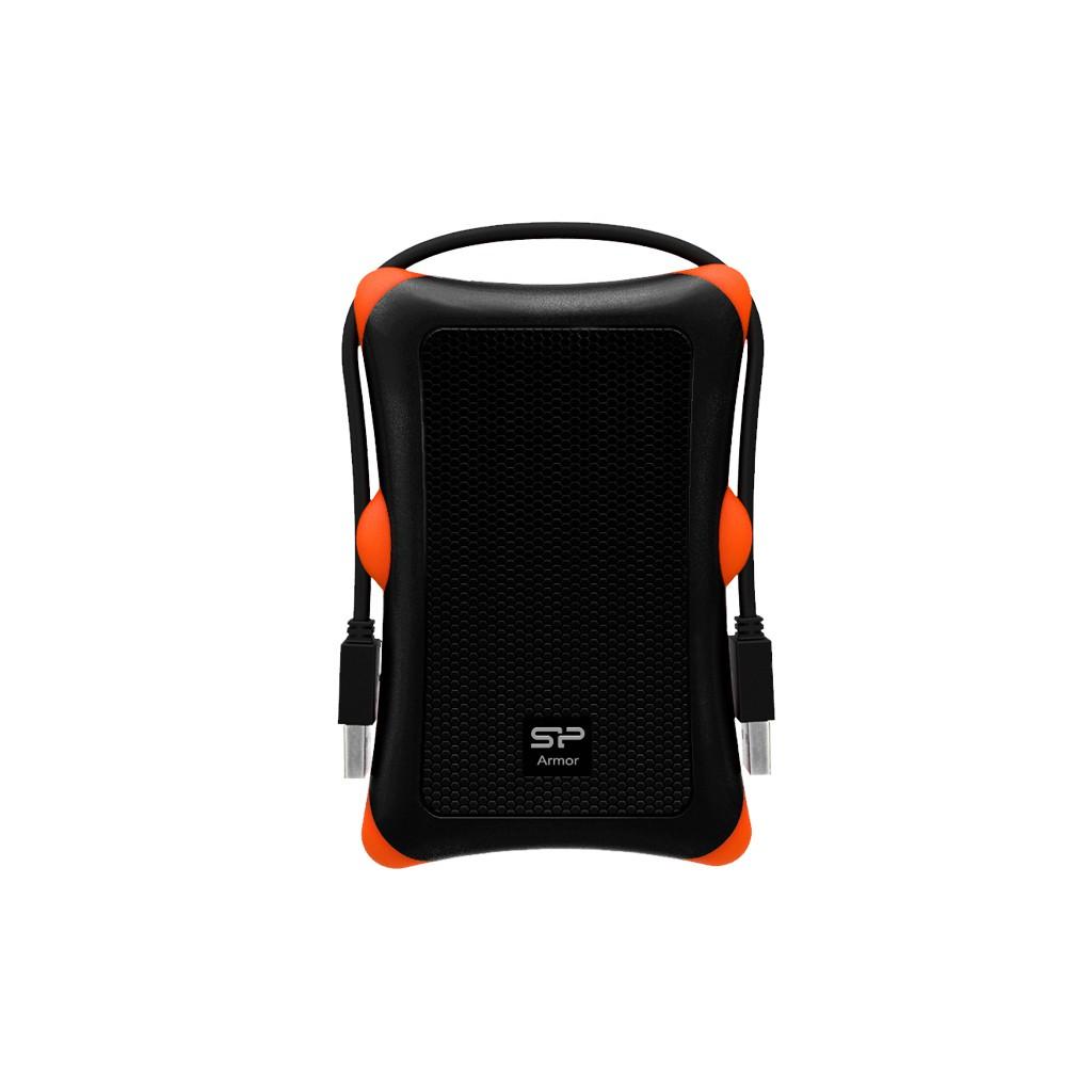 廣穎 ARMOR A30 1TB USB 3.0 軍規抗震外接式行動硬碟 橘白2色