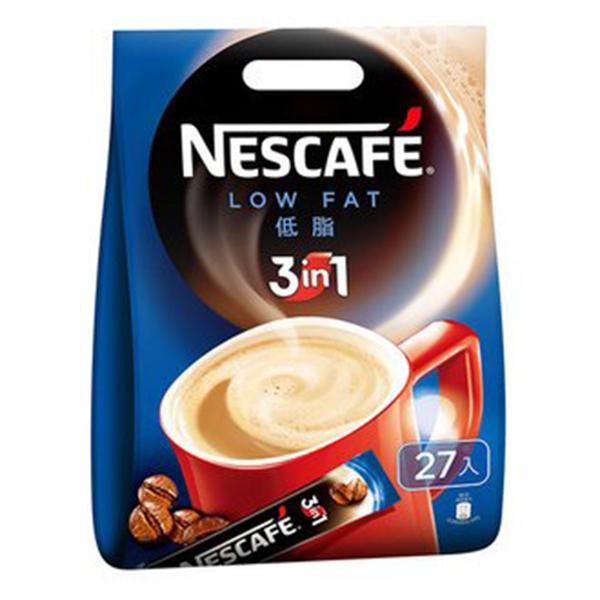 NESCAFE 雀巢咖啡 三合一-低脂 15g (27入)x18袋/箱【康鄰超市】