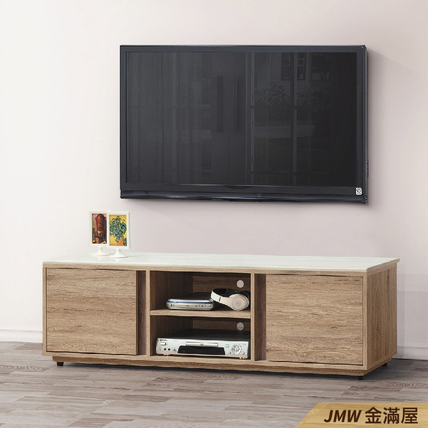 150cm 尺電視櫃金滿屋客廳組合長櫃 展示收納櫃 北歐工業風 tv櫃-q408-6 -
