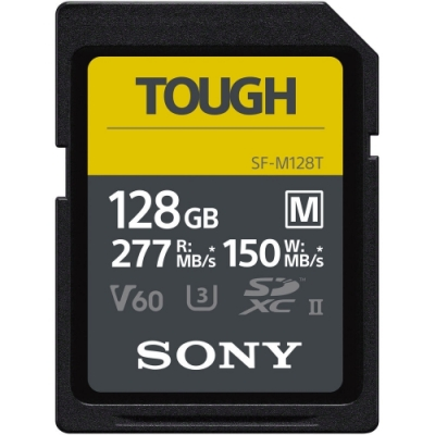 SONY SDXC U3 128GB 高速防水記憶卡 SF-M128T(公司貨)