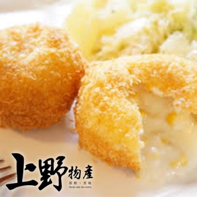 【上野物產】奶油玉米可樂餅(300g±10%/包)x6