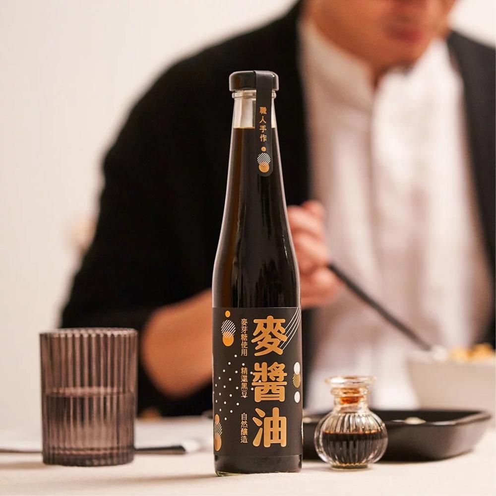 【好米芽】麥芽黑豆精釀醬油 420ml