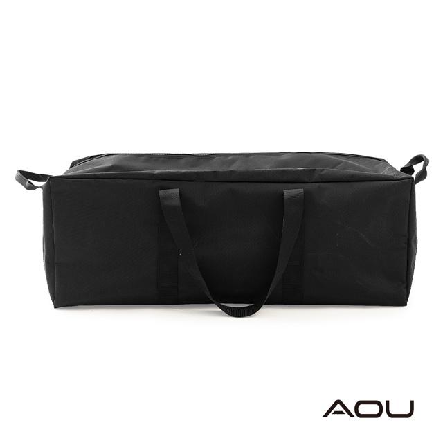 AOU 布料加厚露營裝備袋 大型旅行袋 批發袋 耐重結構設計批貨單幫袋 出國可託運(S號-54L)05-007C