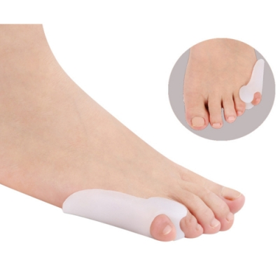 JHS杰恆社abe005貳組廠家直銷矽膠小拇指外翻美形器腳趾分趾器分離重疊趾大腳骨美型鞋